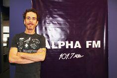 Entrevista Confira o bate papo com o cantor Nando Reis nos estúdios da Alpha Fm