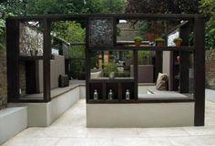 Earthdesigns's modern contemporary garden in Maida Vale, London