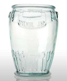 Love this Utensil Jar by Global Amici on #zulily! #zulilyfinds