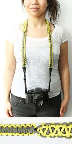 Fun paracord camera straps. Shoot stronger from www.strap550.com #strap550 #rt #paracord #photography #camerastrap #photo $55