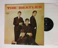 The Beatles LP 1062 Introducing The Beatles Original Vee-Jay Records Original 1st Pressing Mono First Pressing VJLP1062