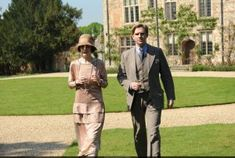 Downton Abbey costumes - Mary and Matthew.JPG