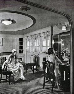 Una suite en SS Leviathan ,  1923