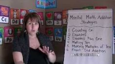 Mental Math Addition Strategies, via YouTube.