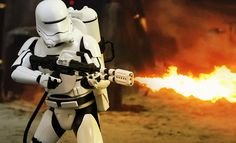 Sideshow Collectibles and Hot Toys are thrilled to continue to grow the First Order army with the official reveal of the First Order Flametrooper sixth scale collectible figure from the highly anticip
