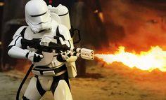 Star Wars First Order Flametrooper Sixth Scale Figure #sideshow #sideshowwishlist