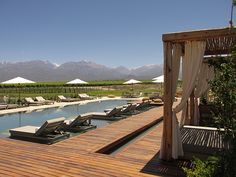 New Vines of Mendoza Luxury Wine Lodge in Argentina Francis Mallman, New Vines, Wine By The Glass, Argentina Travel, Mendoza, Vacation Destinations, South America, Brazil, Gourmet Foods