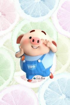Happy Birthday Pig, Illustrations, Disney, Cute, Baby, Wall Papers, Paper, Piglets, Scenery