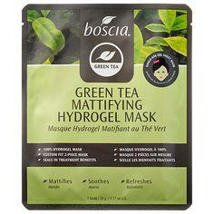 Boscia   Green Tea Mattifying Hydrogel Mask   Estee Fav