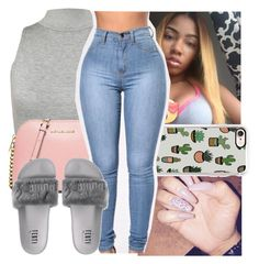 A fashion look from November 2016 featuring WearAll tops, MICHAEL Michael Kors shoulder bags and Casetify tech accessories. Browse and shop related looks. Lit Outfits, Chill Outfits, Cute Casual Outfits, Dope Outfits, Outfits For Teens, Stylish Outfits, Summer Outfits, Teen Fashion, Fashion Outfits
