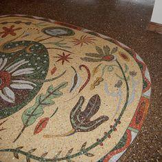 Close up 3 - Teresa Cox mosaic