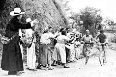 Ramon Hoyos en la Tercera vuela a Colombia (1952?)