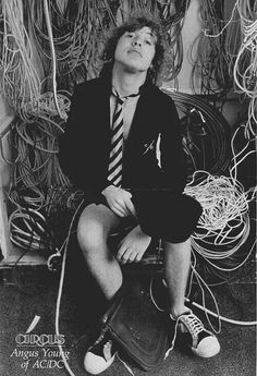 Angus Young 1976 - 70's