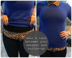31 clothing tips. THIS SHOULD NOT BE SUCH A REVELATION BUT IT IS. Sometimes the buttons poke, this is brilliant...ha!