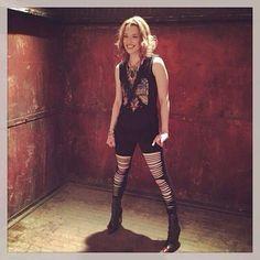 Lzzy Hale ✾ of Halestorm Rock Star Outfit, Lzzy Hale, Women Of Rock, Rocker Chick, Halestorm, Celebs, Celebrities, Hyde, Celebrity Photos