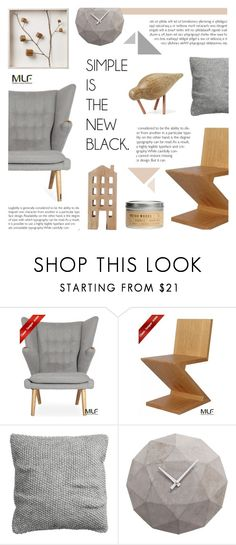"""""""Scandinavian Decor"""" by c-silla ❤ liked on Polyvore featuring interior, interiors, interior design, home, home decor, interior decorating, RIETVELD by Rietveld and H&M"""