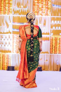 Blouses are the heart of your wedding attire, so here's a board completely dedicated to wedding saree blouses for you to take inspiration!