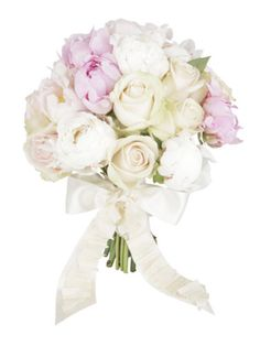 Bloomin lovely    A pretty bouquet of soft pastel colours will look gorgeous in your pictures.    Peonies, Sarah Bernhardt peonies, Sweet Avalanche and Talea roses, from £110, By Appointment Only Design (byappointmentonlydesign.com)