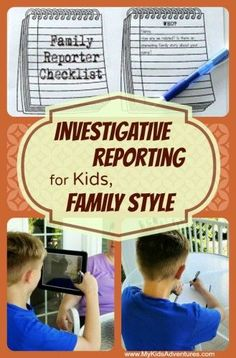 Use this lesson plan for a fun way to teach students how to become investigative journalists and learn about their family history!