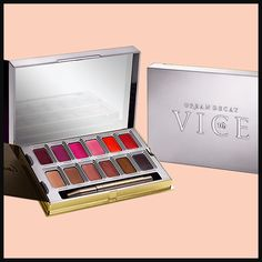 Urban Decay just released their new Vice Lipstick Palettes and the number of shades are practically endless—which means your makeup will be on point day or night! Lipstick Palette, Lipstick Shades, Lip Makeup, Beauty Makeup, Urban Decay Vice Lipstick, High End Makeup, Loreal, Makeup Yourself, Lip Colors