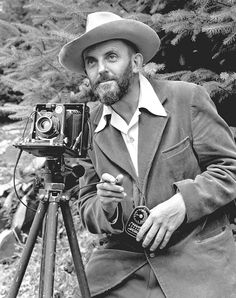 Ansel Adams self portrait