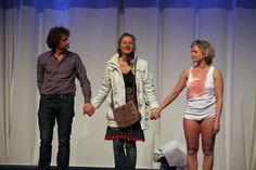 Applaus voor Nynka, Paulien en Rob