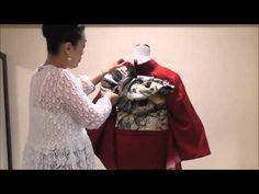 着付師によるプライベートレッスン!振袖着付の極意~レッスン15~ - YouTube
