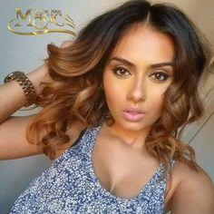 84.00$  Buy now - http://alih10.worldwells.pw/go.php?t=32673724918 - Virgin Malaysian Ombre Glueless Full Lace Human Hair Wigs Short Middles Part Body Wave Blonde Lace Front Wig Two Tone T#1B/30 84.00$