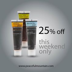 Our topical gels combine homeopathic components along with supporting herbs. Our products do not contain petroleum parabens or added scents dyes or fragrances.  All of this combines to create a unique clean and effective formula that stands apart from our competitors. This weekend take 25% off these three items using promo code FF217 or browse our entire Musculoskeletal Gels.  http://ift.tt/2mkma2U