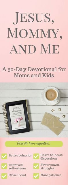 A mother-child devotional unlike any other. Are you ready to build a closer bond with your child? Click to learn more!