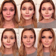 Perfect contouring to face shape  >> Holy crap. It's magic.