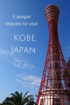 I have been to Kobe a few times.  It is an amazing city.