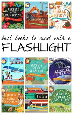 The best books to read with a flashlight - 10+ interactive books to read with the kids tonight