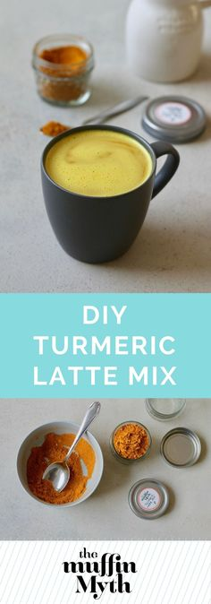 You can make your own Turmeric Latte Mix in a matter of minutes! It's as easy as whisking turmeric together with a blend of spices, inexpensive, and makes for a fabulous homemade gift.