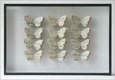 Tracey Bush paper butterflies