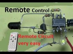 Finally a simple circuit to control the direction of a DC motor. This circuit requires 6 components. I updated the description base on suggestions from Frank. Electronics Projects, Hobby Electronics, Electronics Basics, Electrical Projects, Electronic Circuit Design, Electronic Kits, Arduino, Gadgets Techniques, Physics Projects