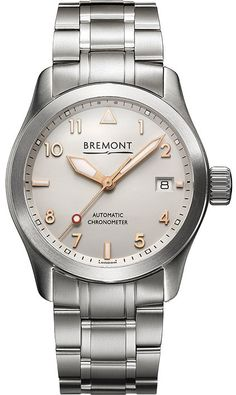 5794acedbbf Bremont Watch Solo 37mm Rose Gold Bracelet SOLO-37 SI-RG BR Watch