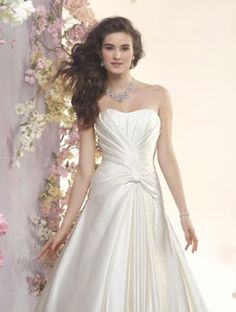 ALFRED ANGELO Bridal Collection Style 2402. #BestForBride
