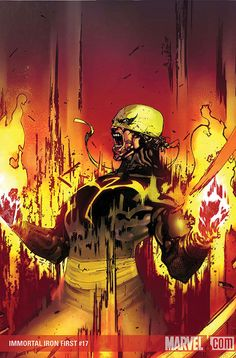 Immortal Iron Fist | Artist: Travel Foreman