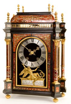 J.Le Maire, Paris | Premier Collection | Northern Clocks Michael Cunningham, French Clock, Unusual Clocks, Mantel Clocks, Time Stood Still, Time Clock, Grandfather Clock, 10 Picture, Types Of Furniture