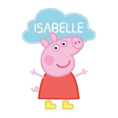 Personalized Peppa Pig Easy Move Canvas Decal Multicolor - The Peppa Pig Tableware Party Kit For Guests Includes Peppa Pig Dessert Plates Peppa Pig Lunch Plates Peppa Pig Beve Buy Costumes Online Like The Peppa Pig Dinner Plates From Australias Pig Nail Art, Pig Nails, Kylie Birthday, Pig Birthday, Birthday Stuff, Third Birthday, Birthday Ideas, Peppa Pig Lunch, Peppa Pig Cartoon