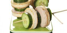 toast med leverpostej og agurk.