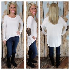 Sweet & Sparkly Top: White www.privityboutique.com