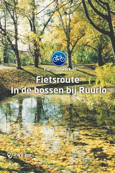 🚲Fietsroute In de bossen bij Ruurlo #Ruurlo #Achterhoek #Natuur #Fietsen #Gezond Holland, Netherlands, Places To Go, Cycling, Things To Do, Hiking, Bike, Country, Weekender