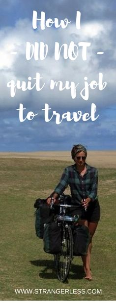 """In probably about of in this world there's that article called """"How I quit my job to travel"""". However, that's not what this article is about. Because, I did not quit my to Travel Hacks, Budget Travel, Travel Tips, Top 10 Destinations, Quitting Job, I Quit My Job, Sissi, In This World, Budgeting"""