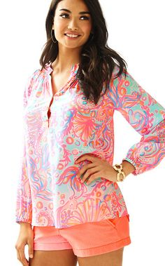 Lilly Pulitzer Elsa Top - Too Much Bubbly