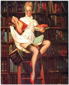 Image result for pin up librarian