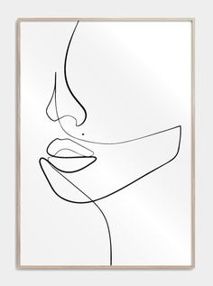 one line drawing face / one line drawing . one line drawing face . one line drawing couple . one line drawing flower . one line drawing simple . one line drawing tattoo . one line drawing woman . one line drawing face simple Face Line Drawing, Single Line Drawing, Woman Drawing, Contour Drawing, Drawing Faces, Abstract Line Art, Abstract Drawings, Easy Drawings, Line Drawings