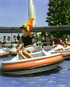 Flying Saucers plagued by repair issues were open from 1961 - 1966.