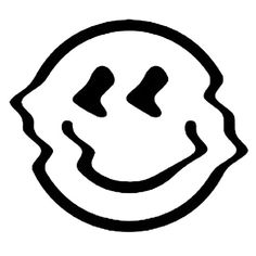 'distorted smiley face - black and white' Poster by eliota Black And White Cartoon, Black And White Posters, Black And White Aesthetic, Purple Aesthetic, Black And White Stickers, Black And White Drawing, Aesthetic Anime, White Wallpaper For Iphone, Dark Wallpaper